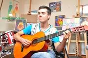 Уроки классической гитары,  уроки электрогитары
